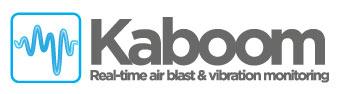 kaboom real time air blast and vibration monitoring