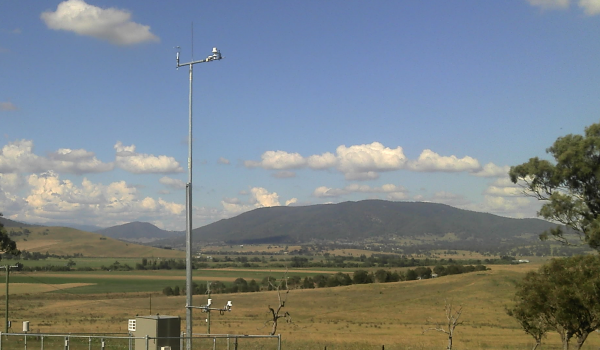 Automatic weather station AWS