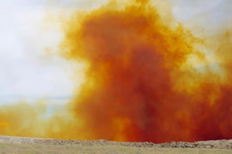 Blast fume monitoring