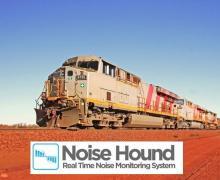 Rail noise monitoring